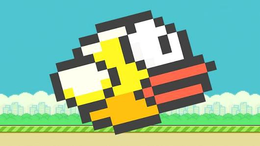 Flappy bird na iPhone 6 Plus