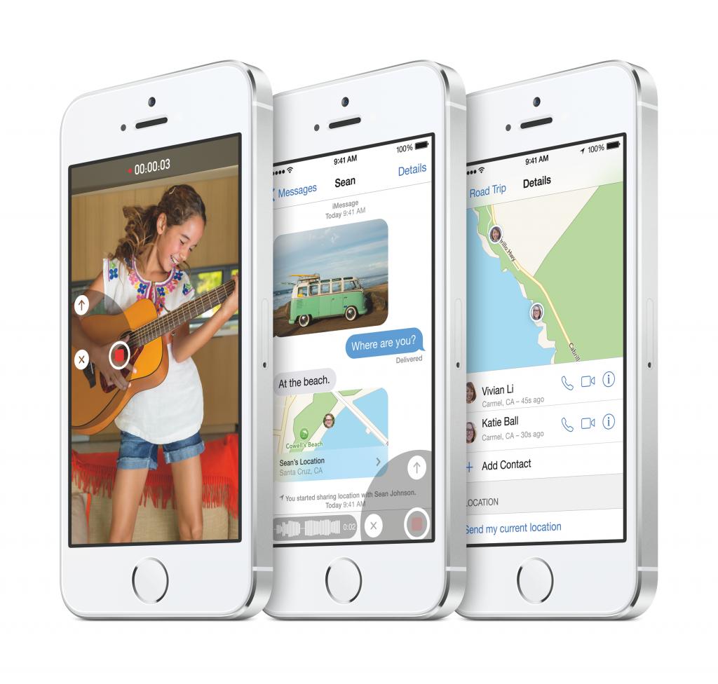 iOS 8 na iPhone 5S - Svetapple.sk