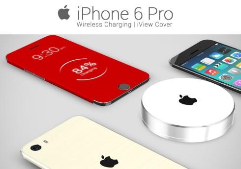 Koncept iPhonu 6 Pro s bezdrôtovým nabíjaním! - svetapple.sk 34266ca18f0