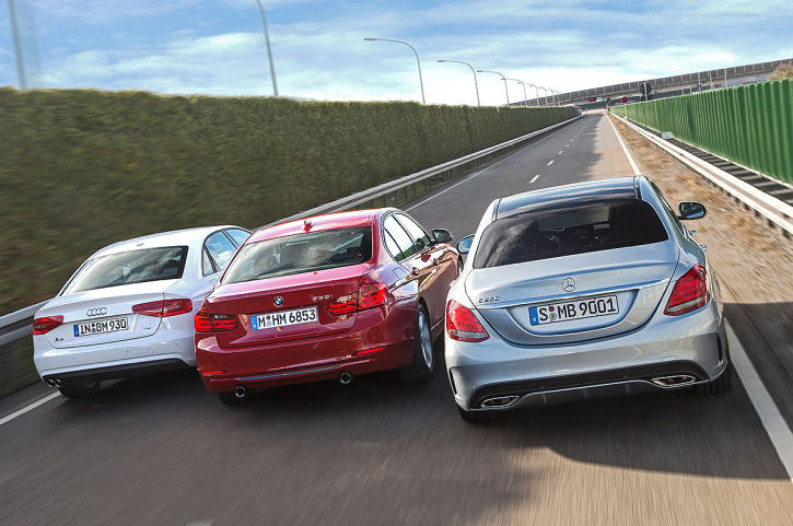 mercedes-benz-c-class-w205-vs-bmw-3-series-f30-vs-audi-a4-b8-photo-gallery_2