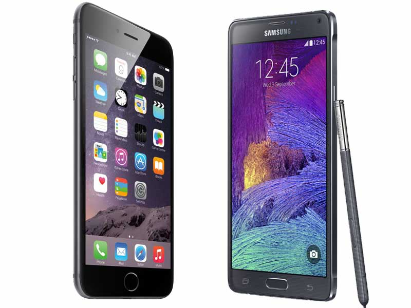 iPhone 6 Plus - Samsung Galaxy Note 4 - svetapple.sk