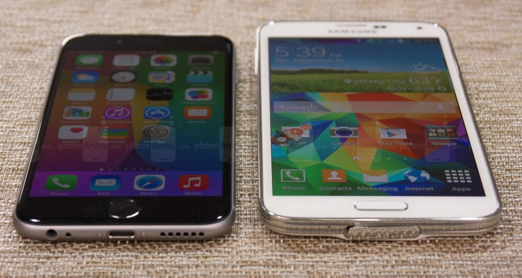 iPhone 6 vs. Samunsug Galaxy S6 - svetapple.sk