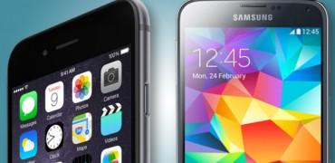 iPhone 6 a Samsung Galaxy S5 - svetapple.sk