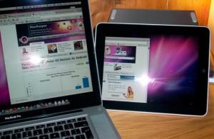 Air Display dokáže rozšíriť obrazovku na váš iPad
