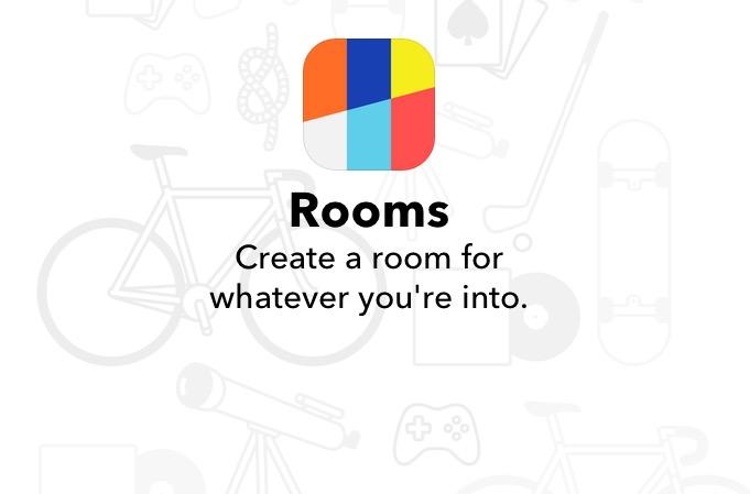 Rooms - chatovacie miestnosti v rámci rôznych záľub