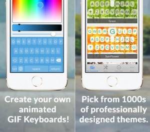 Gifboard - vytvorte si vlastný dizajn klávesnice