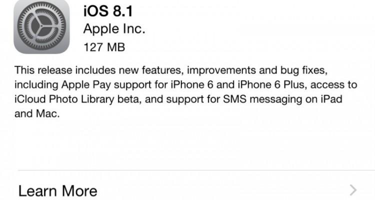 Aké vylepšenia prináša iOS 8.1?