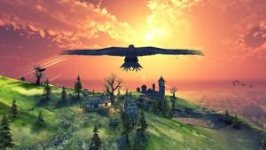 Chcete si pozrieť svet z vtáčej perspektívy a  vcítiť sa to havrana? Stiahnite si skvelú hru Raven