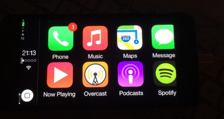 CarPlay na iPhone 6 - svetapple.sk