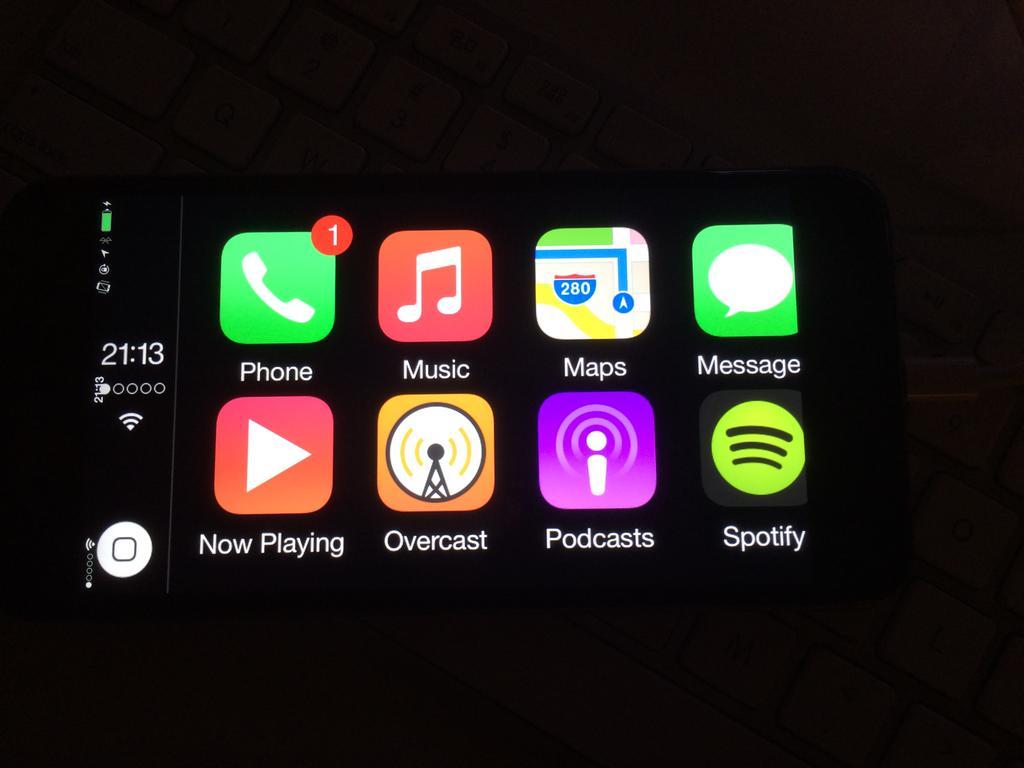 CarPlay na iPhone 6 - svetapple.sk