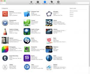 Material design v Mac App Store