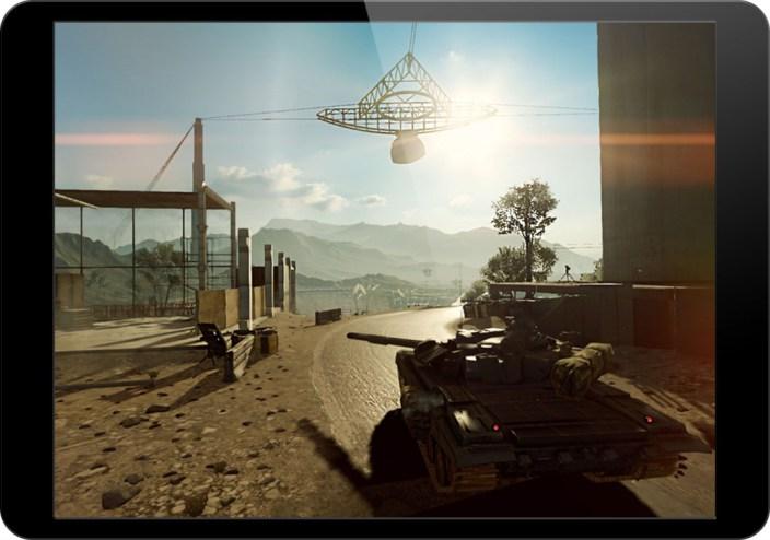 Battlefield 4 tech demo iPad