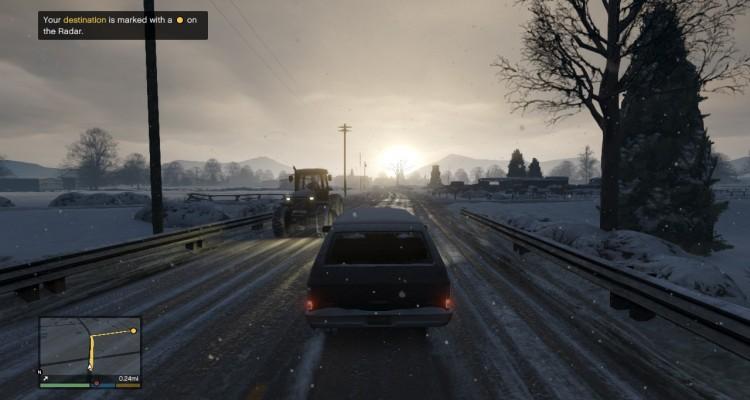 GTA 5 sneh- svetapple.sk