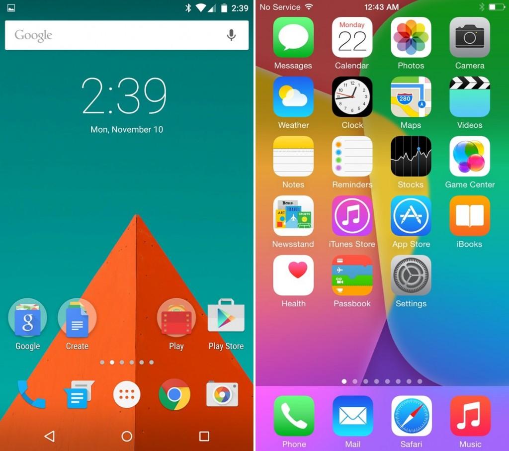 Android vs. iOS - svetapple.sk