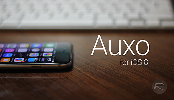 Auxo pre iOS 8 -svetapple.sk
