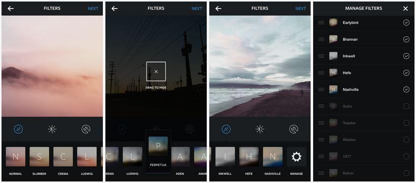 Nové filtre v Instagrame - svetapple.sk