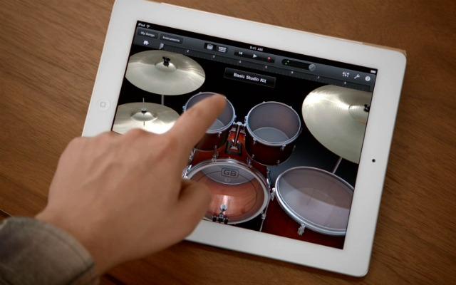 Garage Band na iPade - svetapple.sk