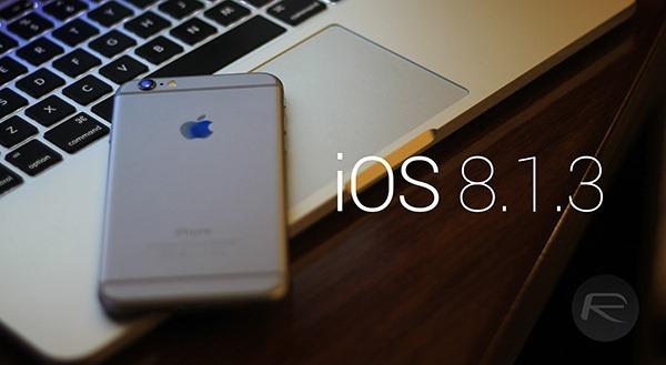 iOS 8.1.3 - svetapple.sk