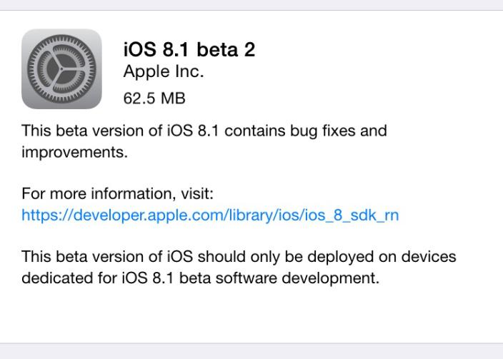 iOS 8.1.2 - svetapple.sk