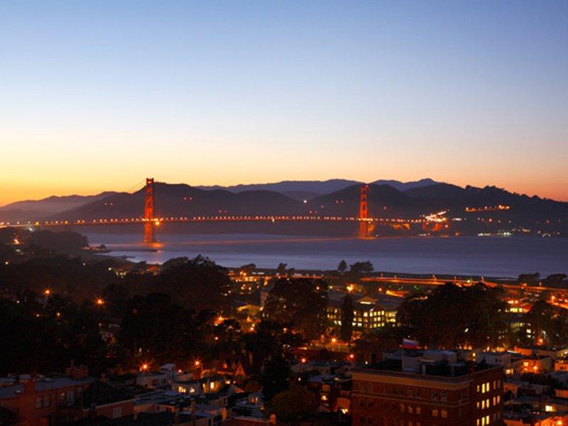 Most Golden Gate, takisto uvidíte priamo z terasy domu - svetapple.sk