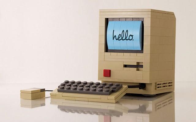 Macintosh z lega - svetapple.sk