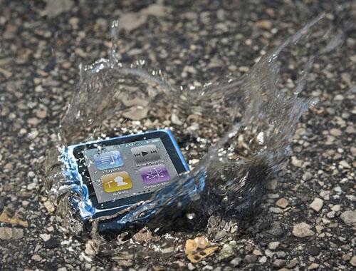 iPod Nano vo vode - svetapple.sk