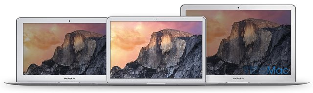 Takto by mohol vyzera nový Macbook Air v porovnaní so súčasnými generáciami! - svetapple.sk