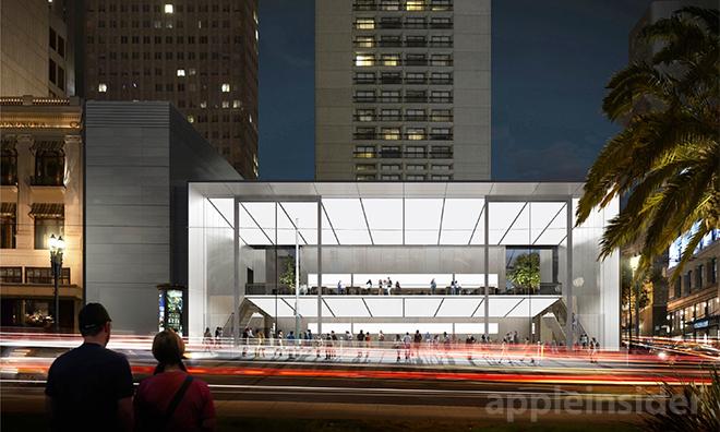 Apple Store v San Franciscu - svetapple.sk
