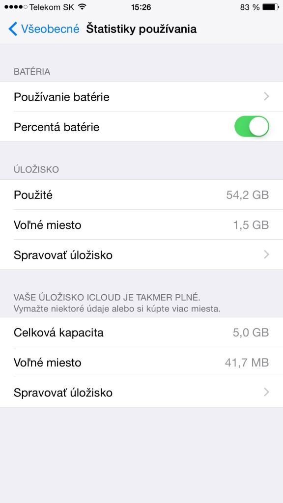 Návod na percentá batérie-svetapple.sk