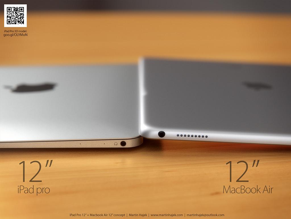 """MacBook Air 12"""" a iPad Pro 12"""" - svetapple.sk"""
