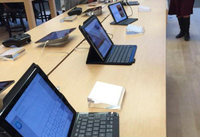 iPady s klávesnicami priamo v Apple Store! - svetapples.k