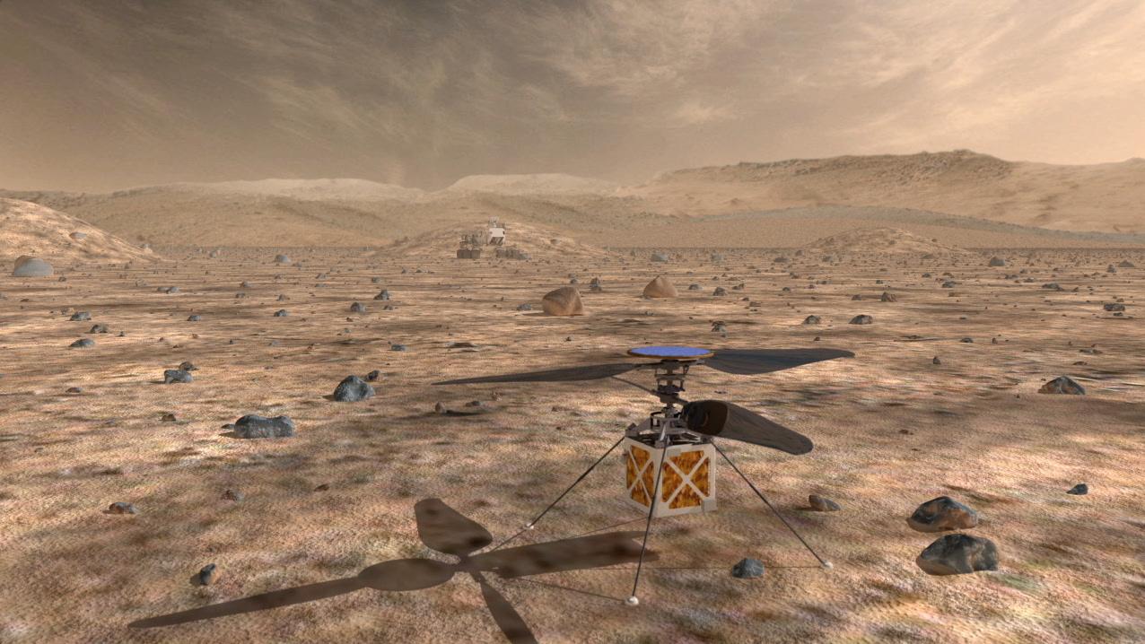 NASA dron - svetapple.sk