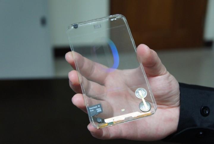 Transparentný smartfón - svetapple.sk