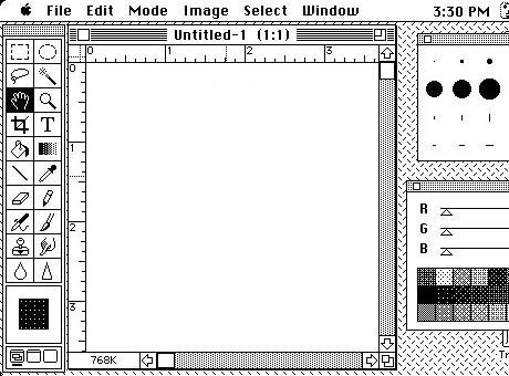 Adobe Photoshop v roku 1989 - svetapple.sk