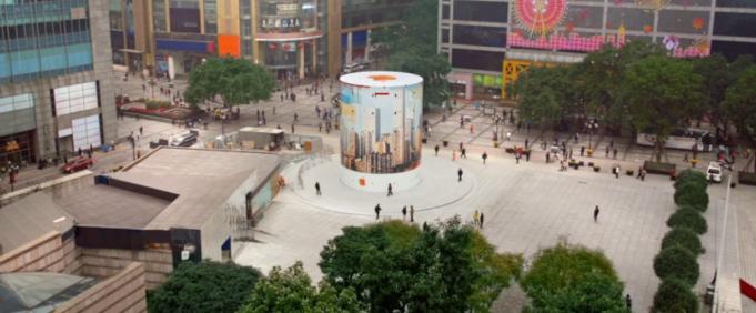 Nový Apple Store v Číne - svetapple.sk