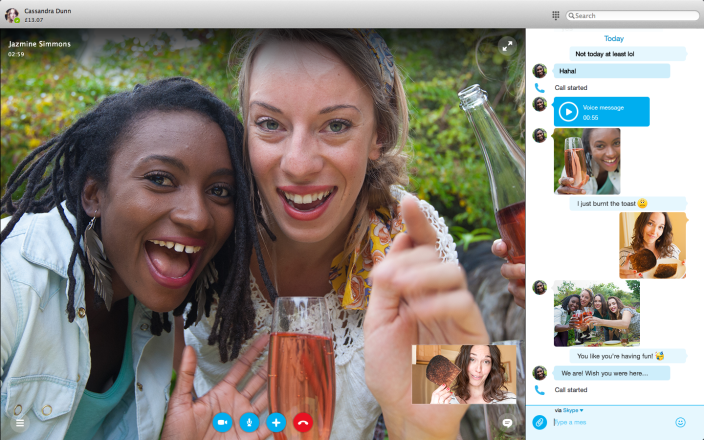 Skype for Mac - svetapple