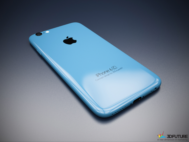 Koncept iPhone 6C!