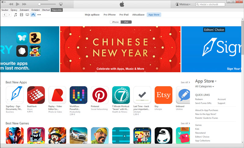 iTunes 12.1.1 - svetapple.sk