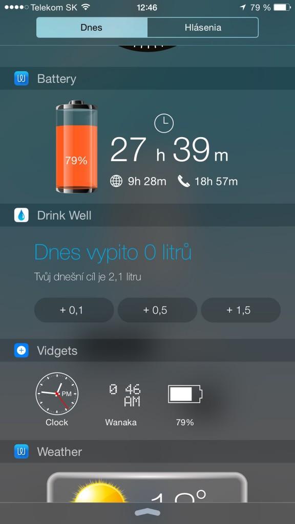 Widgety - svetapple.sk