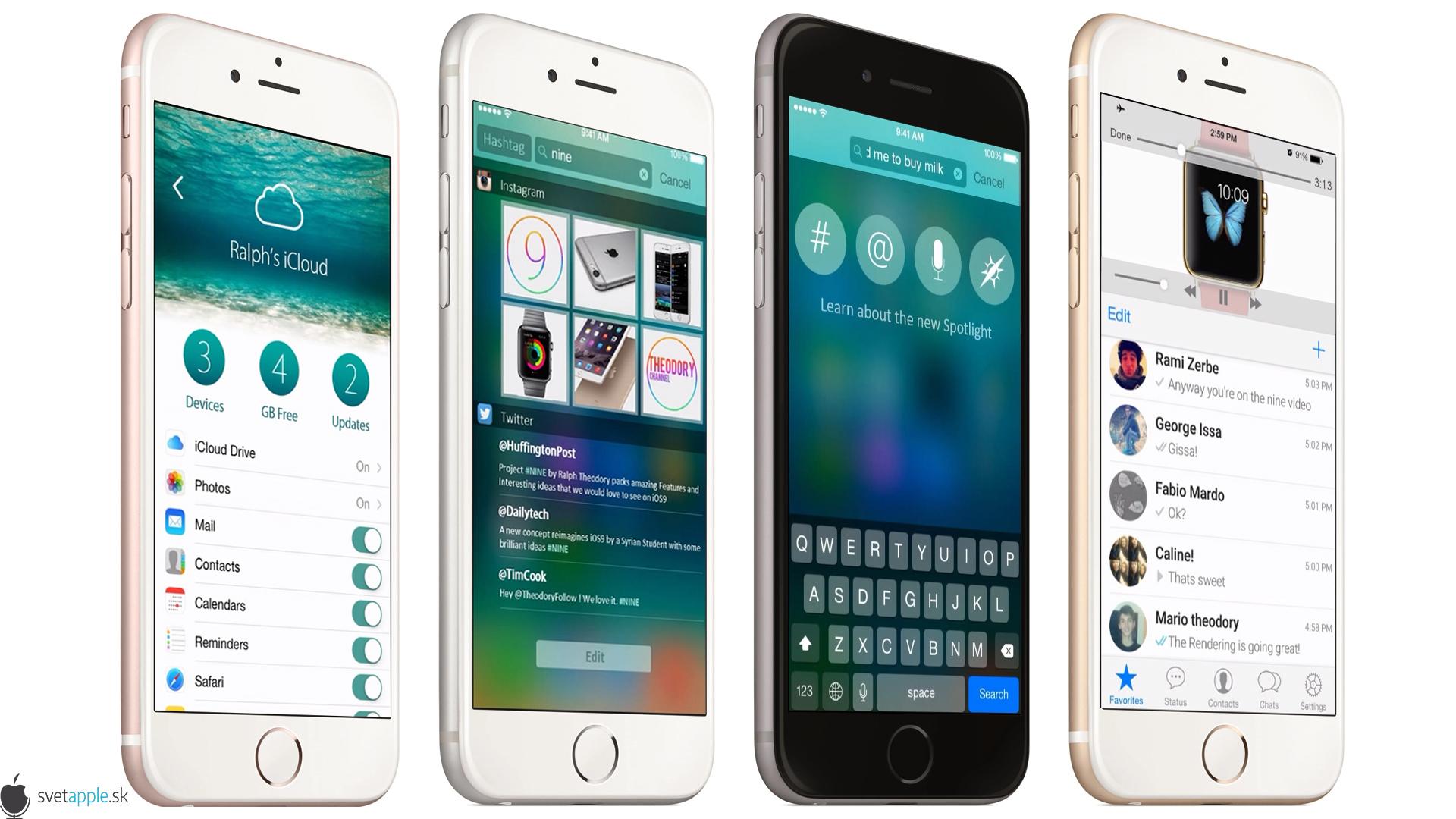 "iPhone 6S ""Rose Gold"" - svetapple.sk"