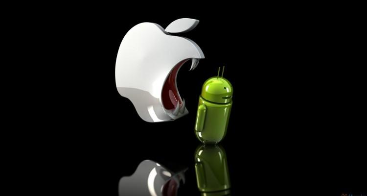 Apple vs. Android - svetapple.sk