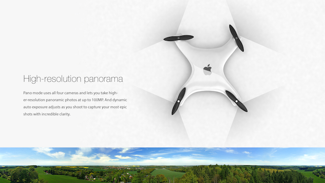 Apple Drone by Eric Huisman - svetapple.sk