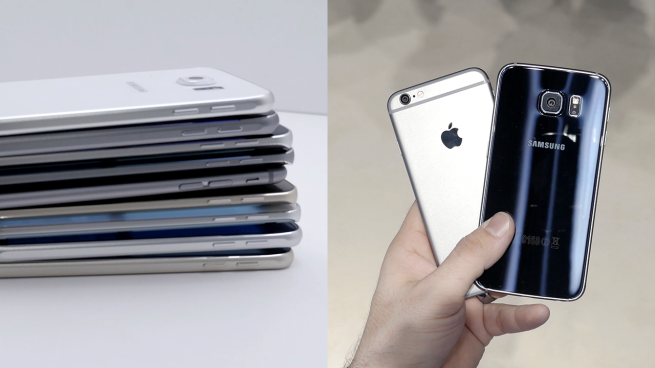 iPhone 6 vs. Galaxy S6 - svetapple.sk
