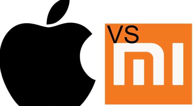 Xiaomi vs Apple- Svetapple.sk