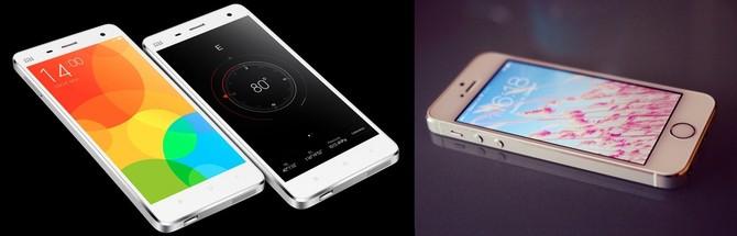 Mi 4/ iPhone 4- Svetapple.sk