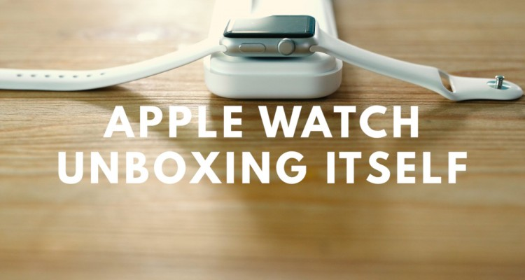 Unboxing Apple Watch - svetapple.sk