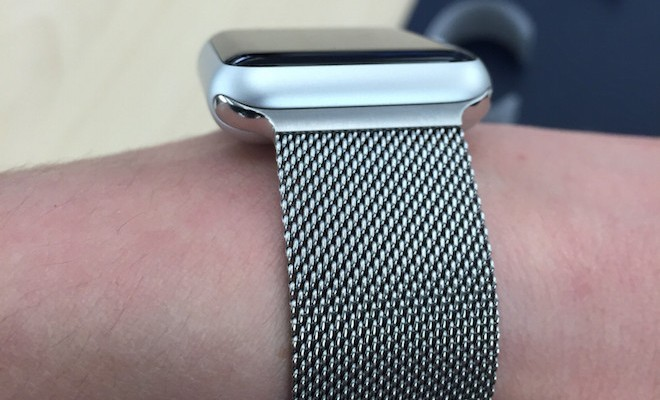 Apple Watch Sport a Milanese Loop - svetapple.sk