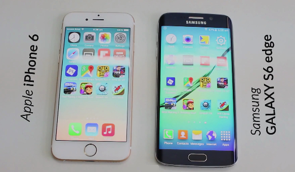 iPhone 6 vs. Samsung Galaxy S6 Edge - svetapple.sk