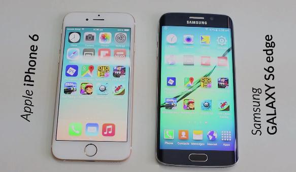 iPhone 6 vs. Samsung Galaxy S6 Edge - svetapple.sk