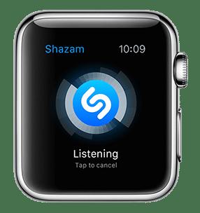 Shazam on Apple Watch - svetapple.sk